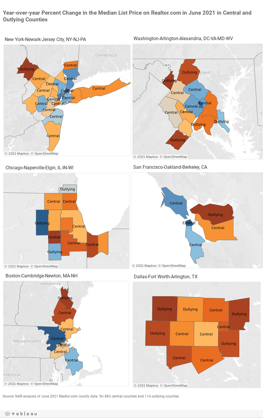 DB-MedianSalesPriceYYPct _CBSA Map