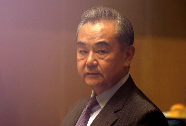 China's foreign minister, Wang Yi, warned his U.S. counterpart that cooperation on Afghanistan would depend on the U.S.'s attitude toward Beijing.