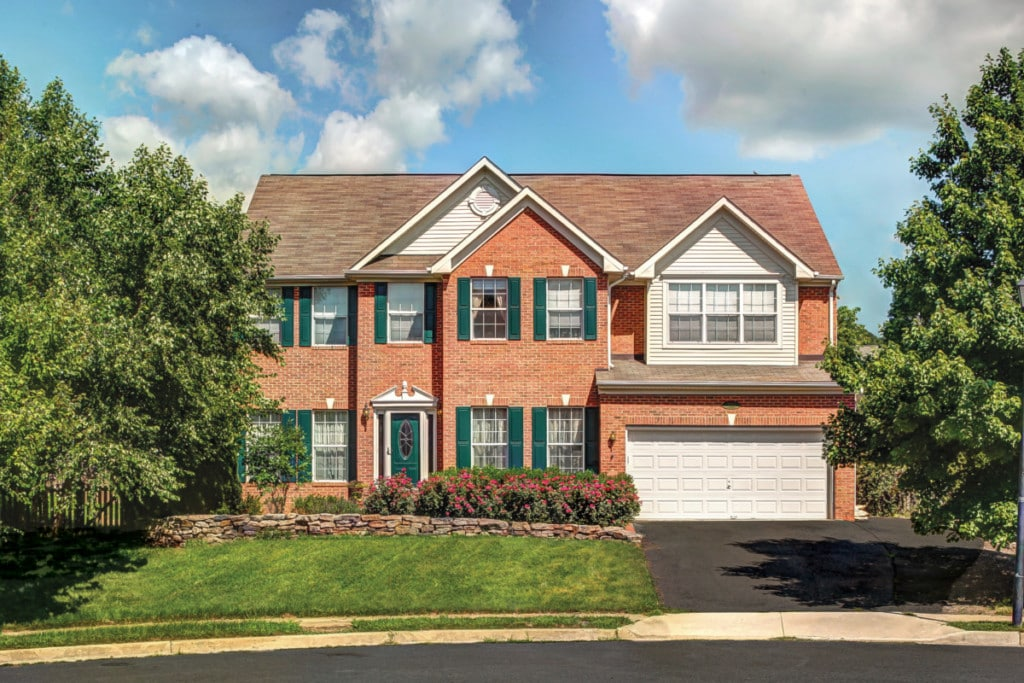 two story brick home for sale